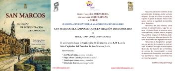 PRESENTACIÓN SAN MARCOS EN LEON